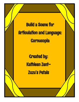 Build a Scene Thanksgiving Cornucopia