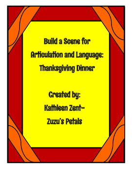 Build a Scene Thanksgiving Dinner