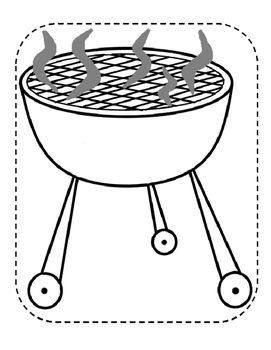 Build a Scene for Articulation and Language: Grilling Summer Food
