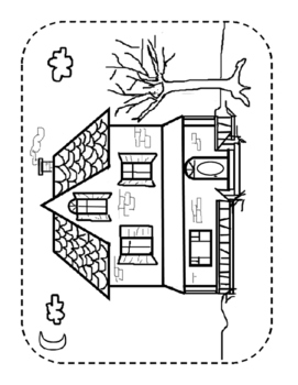 Build a Scene for Articulation and Language: Haunted House for Halloween