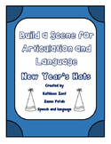 Build a Scene for Articulation and Language: New Year's Hats