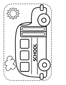 Build a Scene for Articulation and Language: School Bus and Children