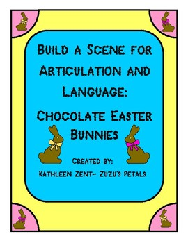 Build a Scene for Easter: Chocolate Bunnies