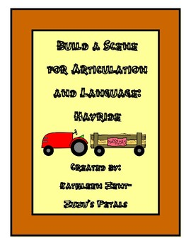 Build a Scene for Fall: Hay Ride