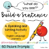 Build a Sentence - A Speaking and Writing Activity for Eng