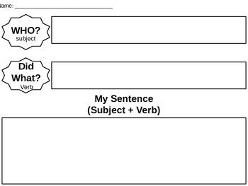 Build a Sentence Activity