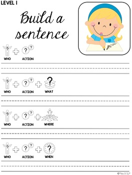 Build a Sentence: Back to School
