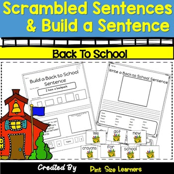 Build a Sentence Back to School