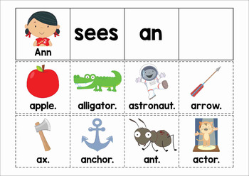 Build a Sentence Pocket Chart Activity with Writing Page