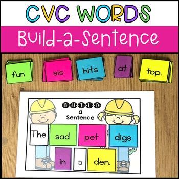 Build a Sentence: CVC Words