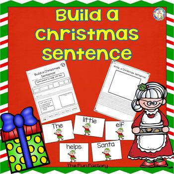 Build a Sentence Christmas