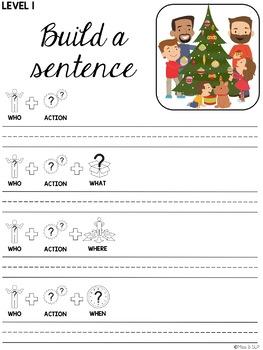 Build a Sentence: Christmas