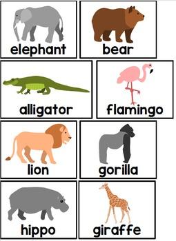 Build a Sentence: Critter Themed