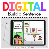 Build a Sentence End of Year Digital Activity   Distance Learning