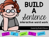 Build a Sentence Interactive Word Work