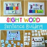 Sight Word Sentence Building