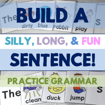 Build a Sentence: Practice Adjectives, Verbs, Plurals, and More Grammar Fun!