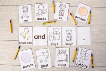 Build a Sentence: Practice Adjectives, Verbs, Plurals, and More Grammar Fun!