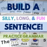 Build a Sentence: Practice Adjectives, Verbs, Plurals, and
