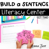 Build a Sentence SET TWO Literacy Center