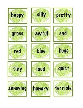 Build a Sentence Sandwich: Literacy Center