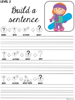 Build a Sentence: Seasonal Bundle