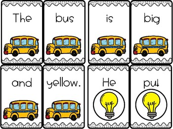 Build a Sentence-Sentence Sorts-Beginning of the Year