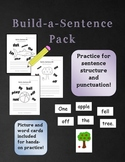 Build a Sentence - Sentence Structure & Punctuation