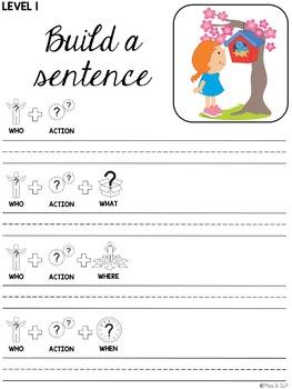 Build a Sentence: Spring