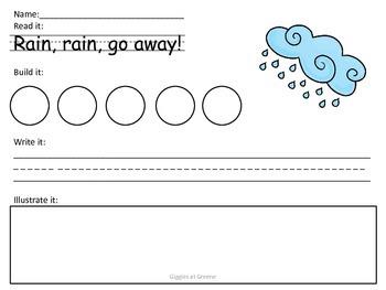 Build a Sentence: Spring Theme