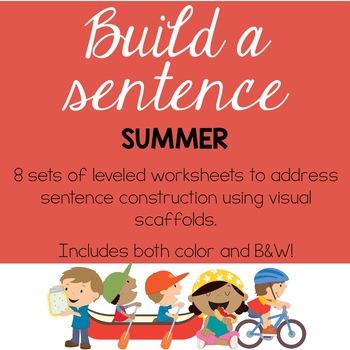 Build a Sentence: Summer