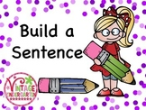 Build a Sentence - can