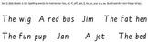 Build-a-Sentence reading manipulative, Set 2
