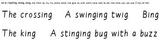 Build-a-Sentence reading manipulative, Set 6