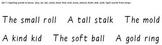 Build-a-Sentence reading manipulative, Set 7