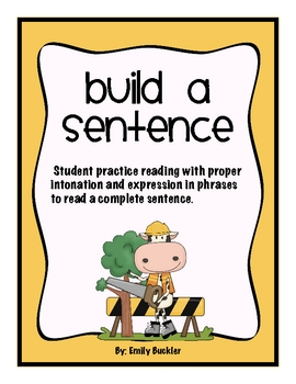 Build a Sentence (with phrases)