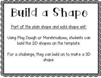 Build a Shape