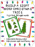 Build a Sight Word Christmas Trees Fry 100