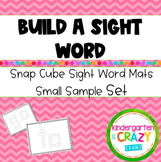 Kindergarten Build-a-Sight Word with Snap Cubes (Lite)