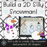 Build a Silly 2D Shape Snowman!