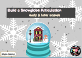 Build a Snow Globe Articulation-BOOM Cards, Distance Learning