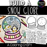 Build a Snow Globe Craft: Coloring Pages {Made by Creative Clips}
