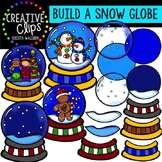 Build a Snow Globe Clipart {Creative Clips Clipart}