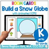 Build a Snow Globe: K Sound Winter Articulation Boom Cards™️