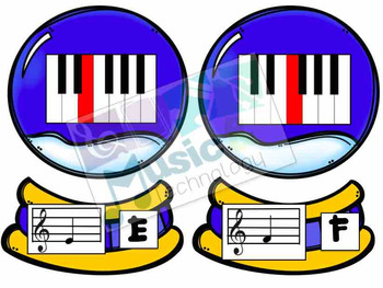Build a Snow Globe- Piano Keys Fingering Review