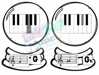 Build a Snow Globe- Piano Keys Fingering Review
