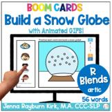 Build a Snow Globe: R Blends Sound Winter Articulation Boo