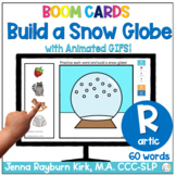 Build a Snow Globe: R Sounds Winter Articulation Boom Cards™️