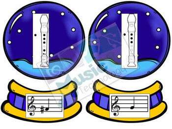 Build a Snow Globe- Recorder Fingering Review