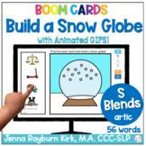 Build a Snow Globe: S Blends Winter Articulation Boom Cards™️